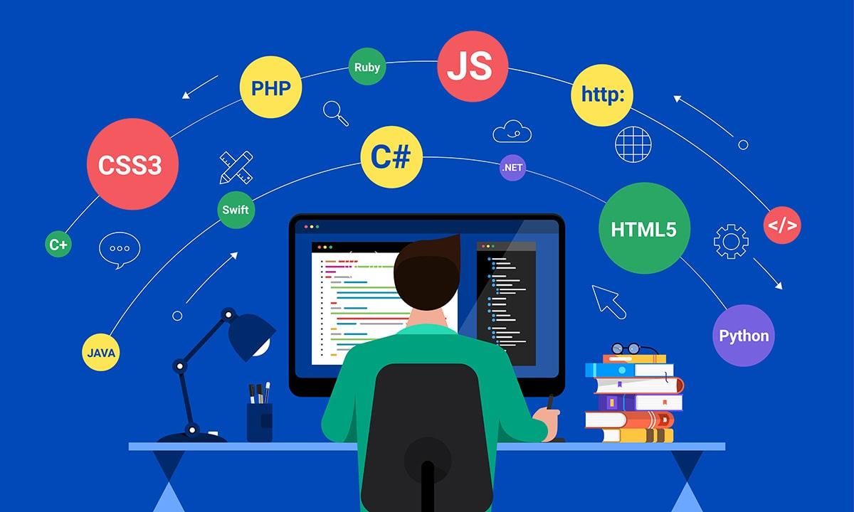 GEEK JOB(ギークジョブ)では3種類のプログラミング言語を学びます